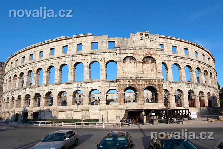 Rímsky amfiteáter vPule -Istria