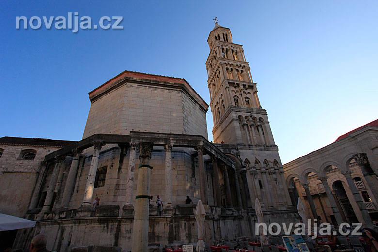 Diokleciánov palác vSplite, Chorvátsko