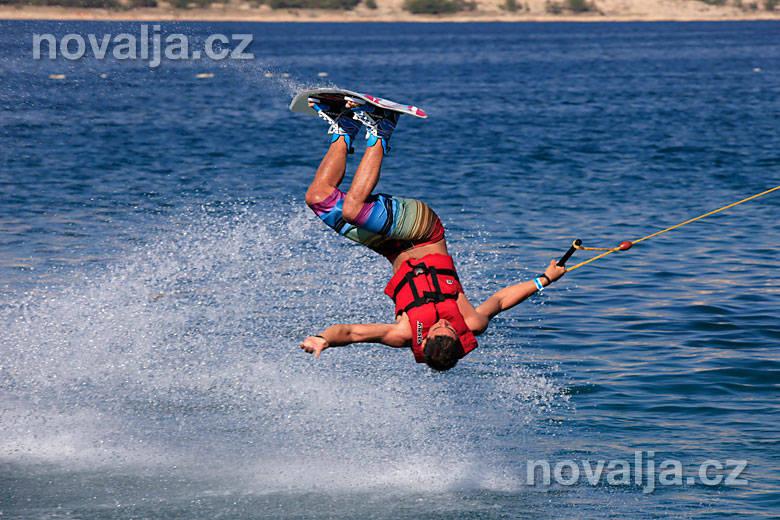 Vodné lyžovanie awakeboarding – Zrče, ostrov Pag